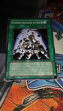 Inferno Reckless Summon - SDMM-EN027 - Common - 1st - M/NM Yugioh