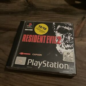RESIDENT EVIL 2 - BLACK LABEL - SONY PLAYSTATION PSONE PS1 GAME - VGC