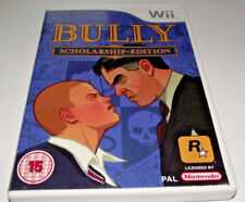 Bully Scholarship Edition Nintendo Wii PAL *Complete* Wii U Compatible