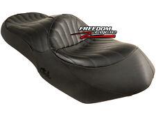 2003-2011 SUZUKI BURGMAN 650 AN650 CORBIN SEAT BLACK LEATHER TUCK AND ROLL NEW!