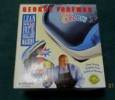 George Foreman Grill Lean Mean Fat-Reducing Machine GR10ABWI ~ New Never Unboxed