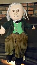"""The Wizard of Oz plush 12"""" doll The Wizard  By Nanco"""