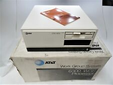 AT&T 6300 WGS Processor Work Group System with JU-455 Floppy Original Box AS-IS