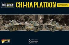 Warlord Games CHI-HA Platoon Japanese Medio TANQUES 28mm Japón II Guerra Mundial