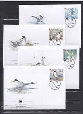 Croatia 2006 - FDC - Vogels/Birds/Vögel  WWF/WNF