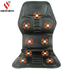 Heated Back Massage Seat Topper Car Home Office Seat Massager Heat Vibrate