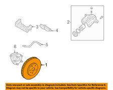 Cadillac GM OEM 06-11 STS Rear Brake-Rotor 25750257