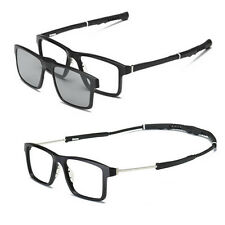 Men sport myopia Eyeglass Frame Optical basketball Glasses +2pcs sunglasses lens