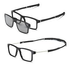 Men sport myopia Eyeglass Frame Optical basketball Glasses +2pcs sunglasses lens