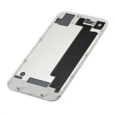 White Battery Cover Back Door Rear Glass Replacement For Apple iPhone 4S A1387