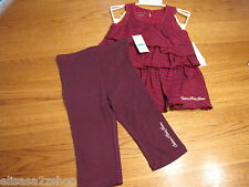 Calvin Klein 24M months Baby girls 2 pc Dress pants leggings 3802098-99T NWT*^