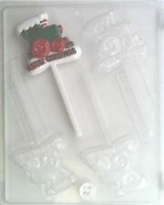 TRAIN MERRY CHRISTMAS LOLLIPOP CHOCOLATE CANDY MOLD HOLIDAY PARTY FAVORSC170