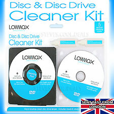 Laser Lens Cleaner DISC Consoles Fluid PS4 PS3 PS2 XBOX 360 BLU RAY DVD CD Clean
