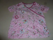 HELLO KITTY SANRIO SCRUBS SCRUB TOP S.C.R.U.B.S. UMBRELLA SIZE S WOMANS V NECK >