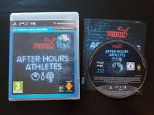 Puma After Hours Athletes - Very Good Condition - PlayStation 3 - Move Required