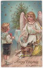 Postal antigua de Navidad