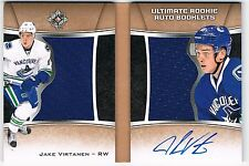 2015-16 ULTIMATE COLLECTION ROOKIE AUTOGRAPH JERSEY BOOKLETS JAKE VIRTANEN /99