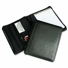 "Samsill Regal Leather Zipper Binder - Letter - 8.50"" X 11"" - 3 X Round Ring"