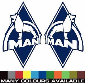 MAN Truck Decals / sticker