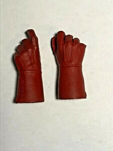 1/6 -scale-custom-CAPTAIN AMERICA LONG GLOVED HANDS, RED....LOOK