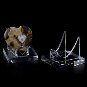 Acrylic Transparent Display Stand Crystal Mineral Storage Rack Ornaments Decor