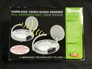 Tevion Wireless Video/Audio Sender - Up to 100m Range - Still Sealed in Box