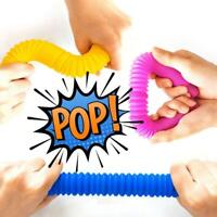 Fidget Tube Toys Sensory Stretch Pipe Tools Decompression Stress Gift