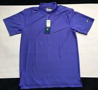 Jack Nicklaus Staydri Short Sleeve Polo Purple Size Medium