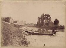 Francia ville per identificare Studio artistico Vintage albumina ca 1880