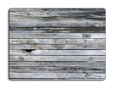 Work top saver, Glass Chopping board 40 x 30 Light Wood design