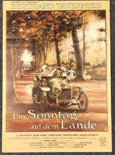 Sonntag auf dem Lande 1984 - Ducreux & Aumont - Original A1 Filmposter (M-6028+