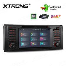 1DIN Autoradio GPS 4GB 6Core 64GB ANDROID 9.0 DAB+ DVD WiFi HDMI für BMW 5er E39