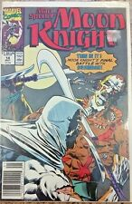 Marc Spector: Moon Knight #14 1990 Marvel Comic Book bagged and boarded