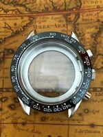 Uhrengehäuse mit Keramiklünette für ETA Valjoux 7750 Chronograph Swiss Made Werk