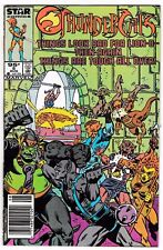 THUNDERCATS #5 (FN) Canadian Price Variant! Classic Copper-Age Issue Star Comics