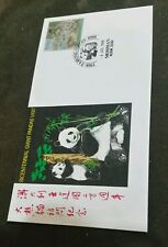 1988 Giant Pandas Visit Souvenir Cover Mosman FDC