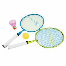 Federball Set Kids für Kinder Junior Schläger Badminton Softball Hudora