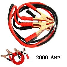Cavi Collegamento Batteria Avviamento 2000 Amp Auto Camper Camion Moto hsb