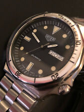 HEUER 980.012 VINTAGE DIVER 200 Mt.(Blank Chapter Ring)