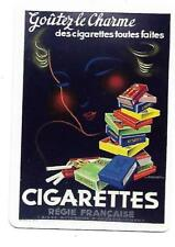 SM73 SINGLE swap playing cards MINT cigarette smoking REGIE FRANCAISE