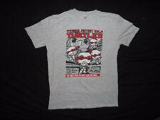 Men's Teenage Mutant Ninja Turtles Gray Short Sleeve T Shirt Size Medium