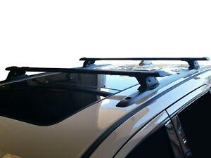 Alloy Roof Rack Cross Bar for Jeep Grand Cherokee WK 2010-20 120cm Black