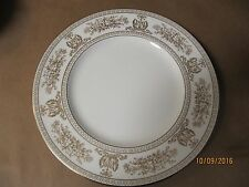 2 Wedgwood Bread and Butter  Plates --- Gold Columbia