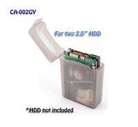 2.5 Inch HDD Protective Storage Box for IDE/SATA Gray