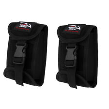 Perfeclan 2x Scuba Diving Weight Pocket Quick Release Buckle Accessory Pouch