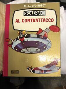 Goldrake al Contrattacco - Libro Illustrato Cartoni Animati