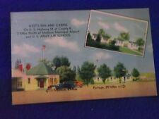 Postcard ~ Gest's Inn and Cabins ~ Madison & Portage  ~ WI ~ UNUSED