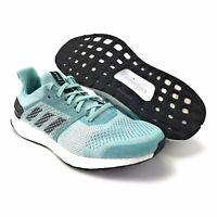 Adidas Womens Ultraboost ST Parley Blue Spirit Cloud White Running Shoes Sz 9.5