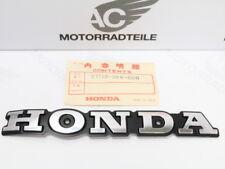 Honda CB 125 T Tankemblem linke Seite original fuel tank emblem left side NOS