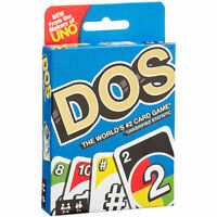 DOS - UNO Card Game Brand new sealed package Mattel Games - Original